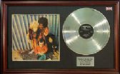 JIMI HENDRIX - LP Platinum Disc&cover- BAND OF GIPSIES